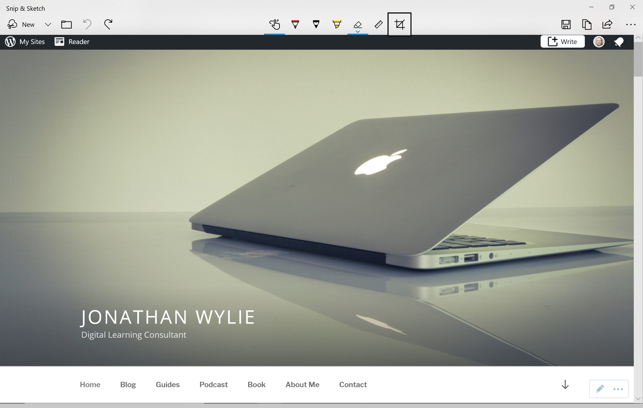 Snip & Sketch: The Windows 10 Screenshot Tool – Jonathan Wylie