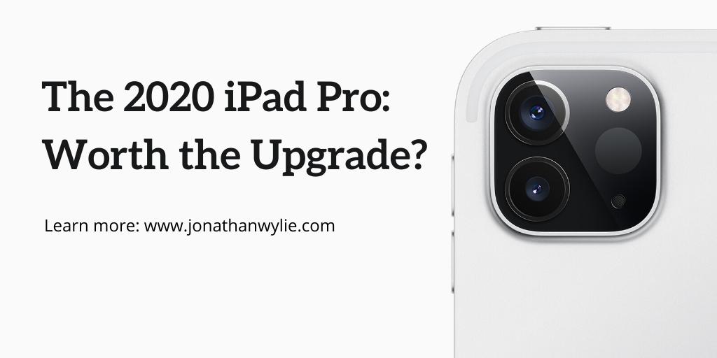 The New 2020 iPad Pro & Magic Keyboard – Jonathan Wylie