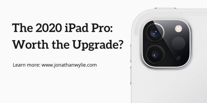 The 2020 iPad Pro: Worth the Upgrade? Learn more: www.jonathanwylie.com
