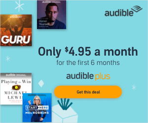 Sign up for a free Audible Trial